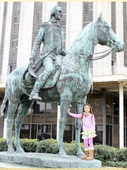 Numerous monuments have been built to honor Galvez. A 12-foot statute of him on horseback is featured in New Orleans. A painting of him is in the Capitol or Washington, D.C., honoring him as one of the heroes of the American Revolution.