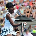 Venus Williams withdrew from Australian Open warm-ups for precautionary reasons, tournament director Mark Handley said.
