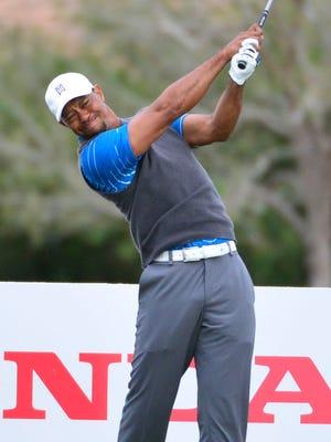Tiger Woods shot a 1-over 71.
