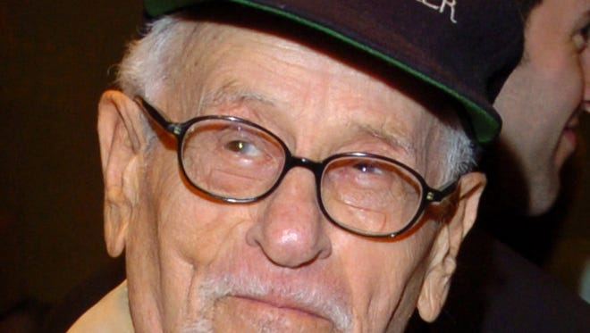 """Actor Eli Wallach, known for his work in """"The Good, The Bad, and the Ugly"""" and """"The Magnificent Seven"""", died on June 24, 2014.  He was 98 years old."""