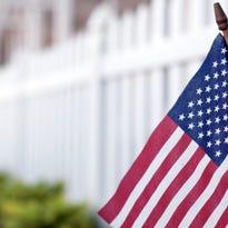 American Flag on Mainstreet USA