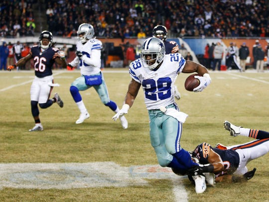 Cowboys running back DeMarco Murray is the league's