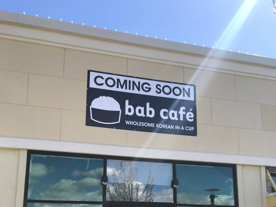 Bab Cafe, the popular Korean restaurant in downtown
