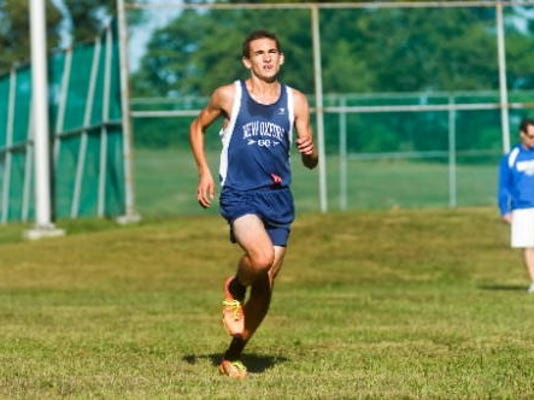 New Oxford's Aaron Gebhart is in the running for USA TODAY High School Sports' Inspiration Trophy. (Photo by Clare Becker, Evening Sun)