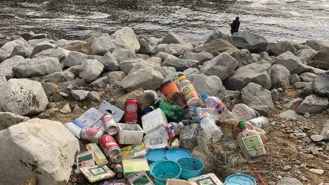 If anglers below the Barnett Reservoir dam continue to litter, they may find themselves locked out.