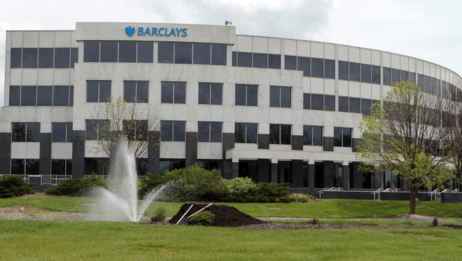 Exterior of the building in which  Barclaycard has opened a new office in Hamilton.