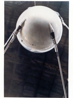 October 4, 1957: Sputnik 1 was the first satellite