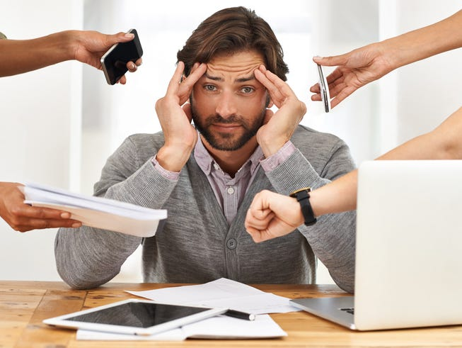 Take the quiz to see where your stress level lies.