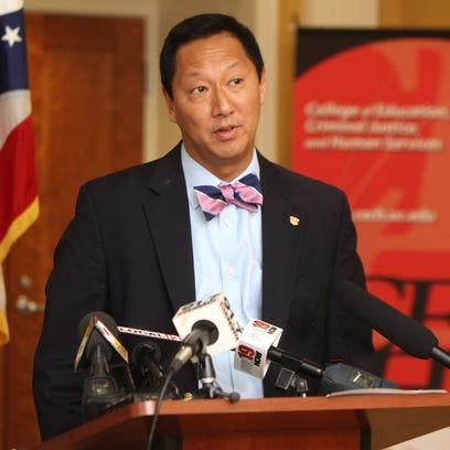 University of Cincinnati president Santa Ono