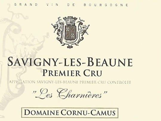 Domaine Cornu-Camus Savigny-les-Beaunes 1er cru 2015