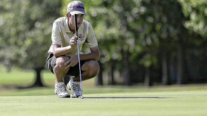 Junior Carson Trafford is among the top returnees for the Watterson boys golf team and 13th-year coach Olin Melaragno. The Eagles will open CCL action with the league preseason tournament Wednesday, Aug. 19, at Hickory Hills.