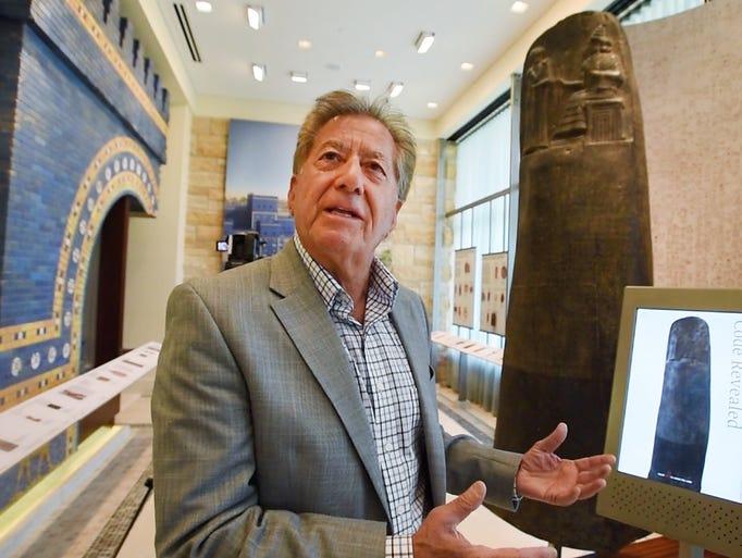 Franci Boji, chair of the Chaldean Cultural Center,