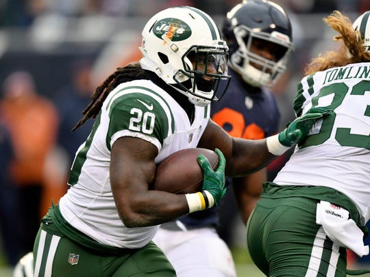 Isaiah Crowell could have a nice bounce back game against a poor Miami run defense. (Quinn Harris-USA TODAY Sports)