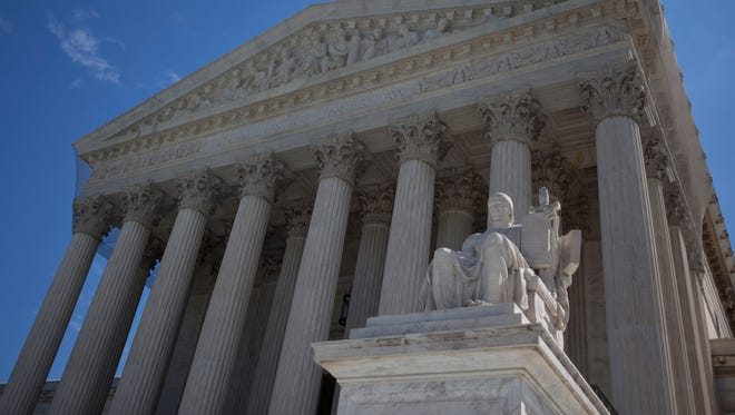 The Supreme Court refused Monday to get involved in a dispute over Internet sales taxes.