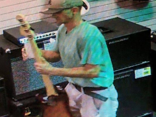 Man accused of stealing guitars