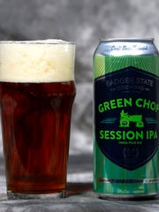 Badger State Brewing's Green Chop Session IPA