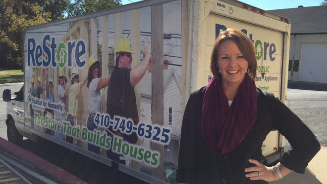 Molly Hilligoss is executive director of Habitat For Humanity of Wicomico County.