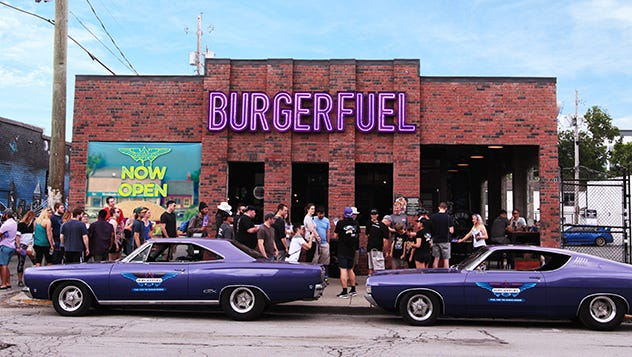 "Indianapolis' Broad Ripple neighborhood is the first U.S. location for the New Zealand chain BurgerFuel that operates nearly 87 restaurants worldwide under the motto ""death before bad burgers."" The Broad Ripple location opened in May 2017."