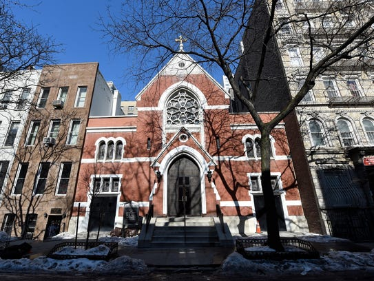 Our Lady of Peace Church on Manhattan's East Side is