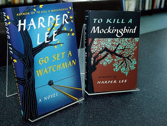 "Harper Lee's books ""To Kill a Mockingbird"" and ""Go Set a Watchman"" will be for sale at the WSRE event."