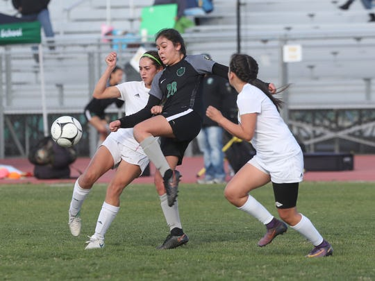 Coachella Valley falls to San Gabriel Mission in the CIF semifinal match, February 27, 2018.