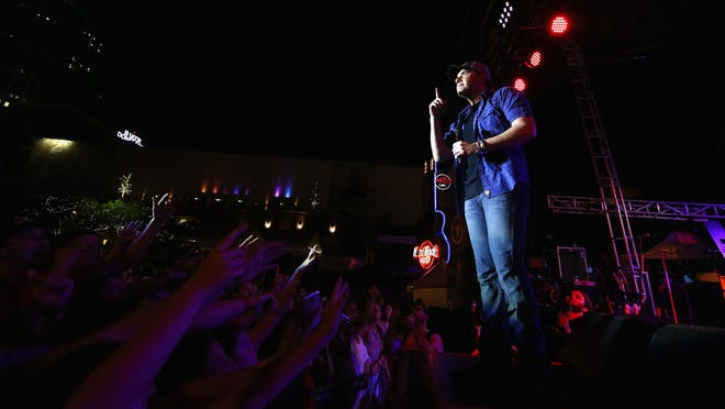 Rodney Atkins performing outdoors in Nashville on June 3. He'll be under the stars in Seaside Heights on Wednesday, June 17.