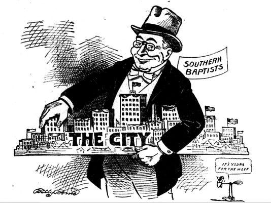 Southern Baptists in Asheville cartoon 1916.jpg