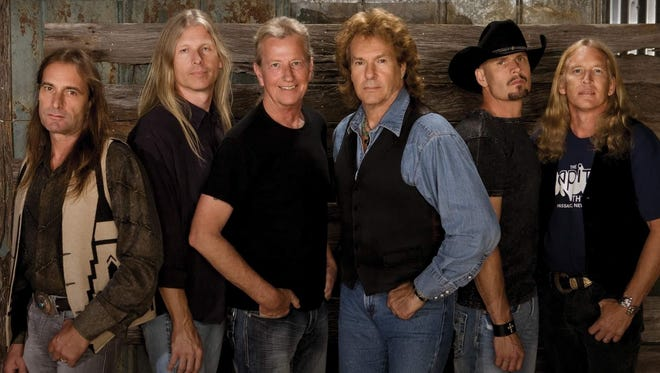 The Outlaws perform Sunday at Magic City Music Hall.