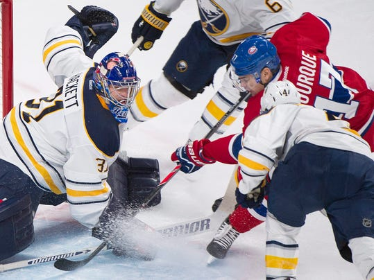 Sabres Canadiens Hockey