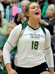 Deedra Foss ranks first in CSU in assists in the modern