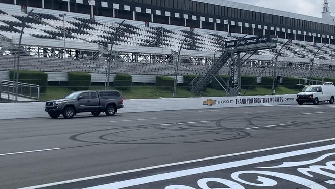 On Thursday, July 9, Pocono Raceway hosted its 15th annual American Red Cross Blood Drive as well as the Ride for the Red, allowing the public to drive on the track for a donation of $10 per lap behind a pace vehicle.