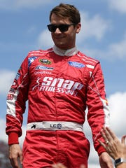 Landon Cassill's training passion helped him pick up Snap Fitness, a 24-hour health club, as a car sponsor.
