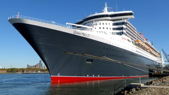 No. 2: MV Queen Mary 2. This magnificent QM2 doesn't