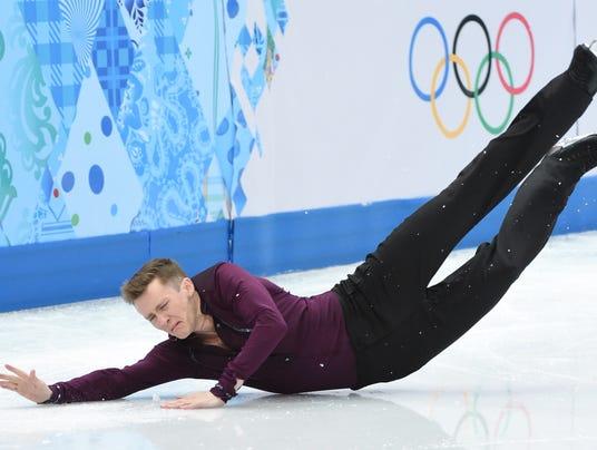USP Olympics_ Figure Skating-Men Short Program