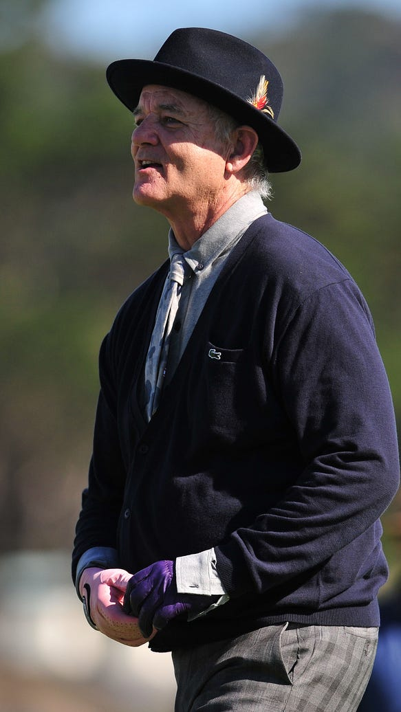 14 photos of Bill Murray's best golf fashions