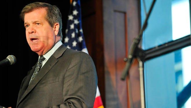 Former Nashville Mayor Karl Dean is pondering a Democratic run for higher office, including a possible bid for governor.