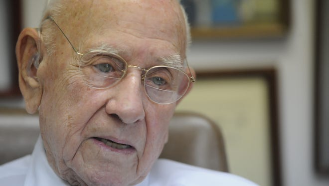 Roy Danuser passed away early Friday at the age of 97.