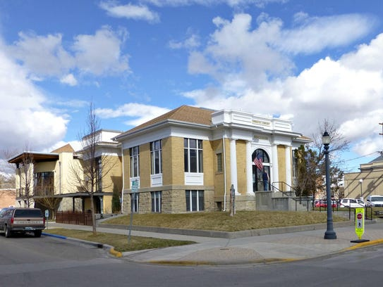 The Carnegie Library, now the Livingston-Park County