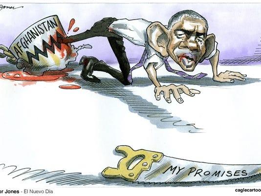 Desert Sun editorial cartoon Oct. 22, 2015