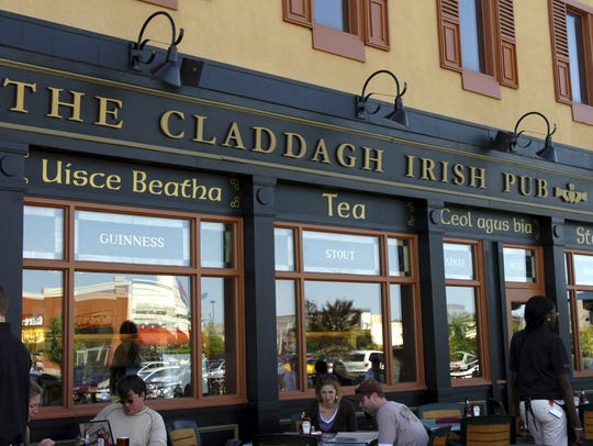 The Claddagh Irish Pub in the East Town Center.