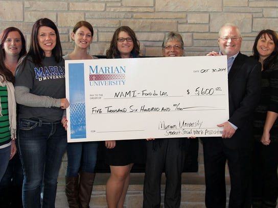 A donation in the amount of $5,600 was made by the
