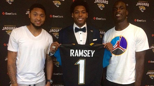 Former Seminoles Rashad Greene, Jalen Ramsey and Telvin