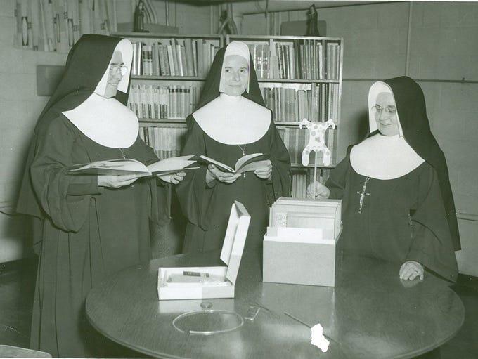 IHM Nuns from Monroe first staffed Gesu school in northwest