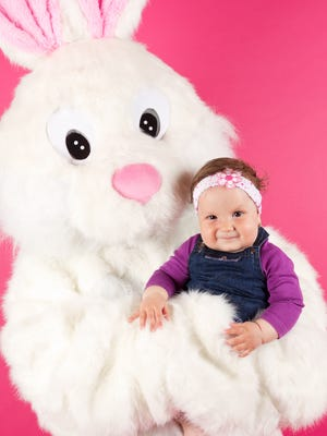Kids can get photos with the Easter Bunny