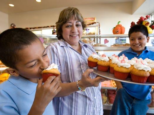 Propiedad de la misma familia, ambas panaderías ofrecen