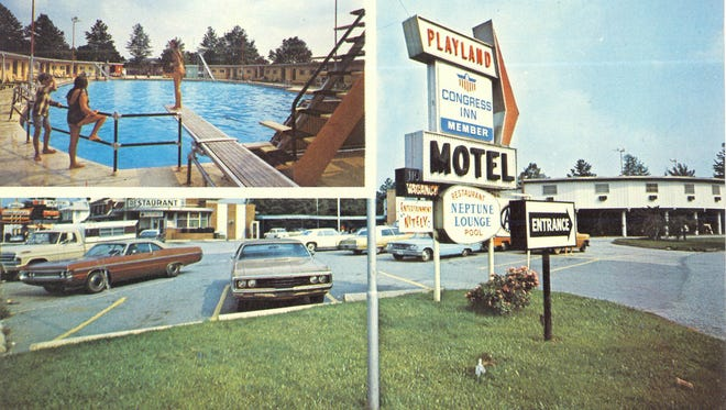 Cindy Roach of Dover shared these postcards from her collection depicting the former Playland motel, pool and roller rink complex in Springettsbury Township.