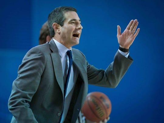 Martin Ingelsby was named Delaware Men's Basketball