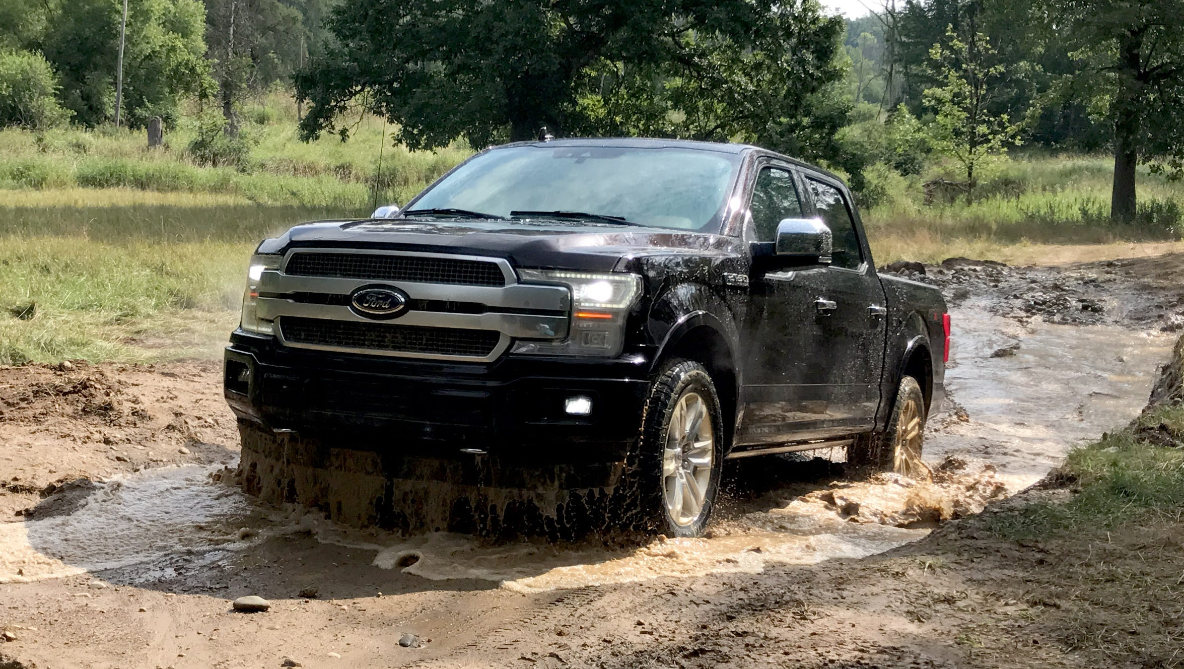 First Drive  2018 Ford F