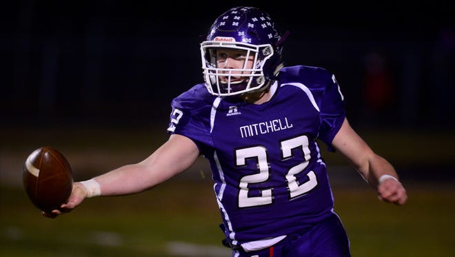 Ben Young and Mitchell have advanced to next week's 1-A Western Regional championship game.