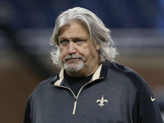 New Orleans Saints defensive coordinator Rob Ryan